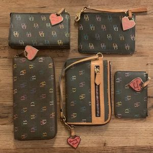 Set: 5 Dooney & Bourke IT Collection accessories